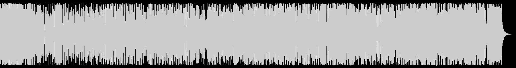 疾走感のあるクールなチップチューンの未再生の波形