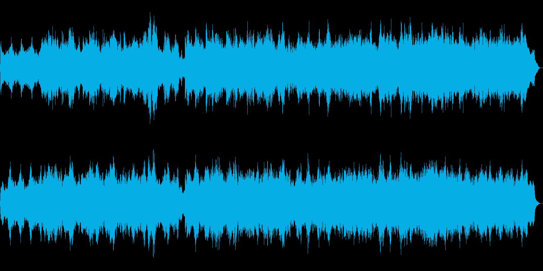 ハロウィン系BGM 魔法の森 SE入り版の再生済みの波形