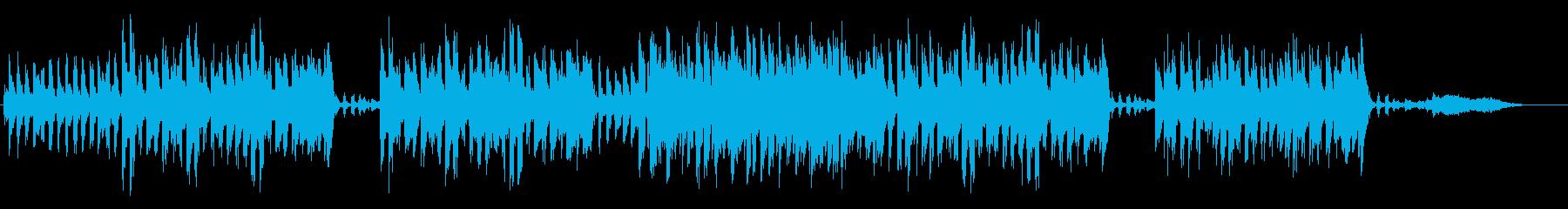 口笛が印象的なリラックスソングの再生済みの波形