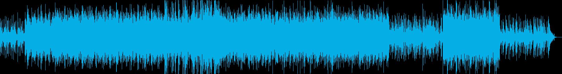 BossaNova+大正琴+笛の和洋折衷の再生済みの波形
