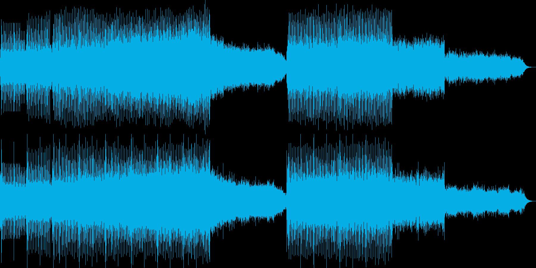 浮遊感漂うエレクトロニカの再生済みの波形