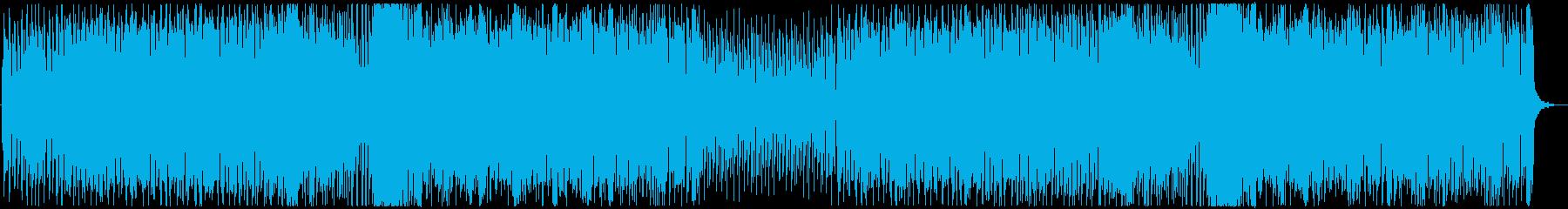 フルートが特徴的な民族音楽(イントロ無)の再生済みの波形