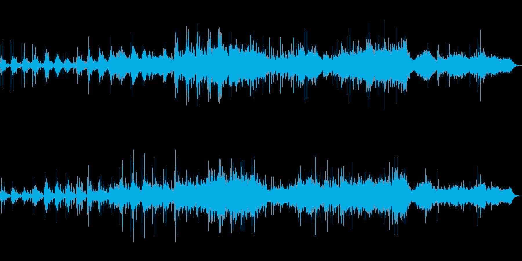 やさしい美しいニューエイジ音楽の再生済みの波形