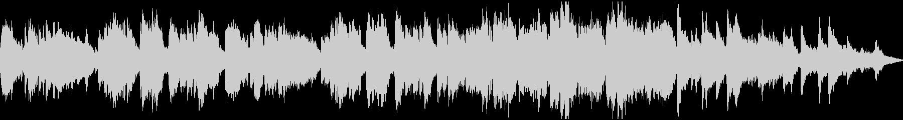造語&チェレスタの切ない小曲・ループの未再生の波形