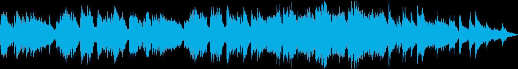 造語&チェレスタの切ない小曲・ループの再生済みの波形
