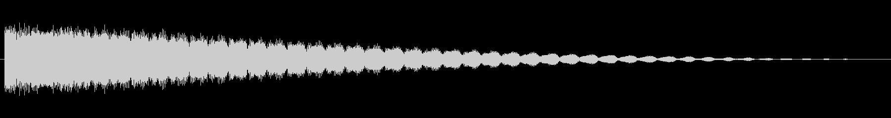 素材 スティンガーハム01の未再生の波形