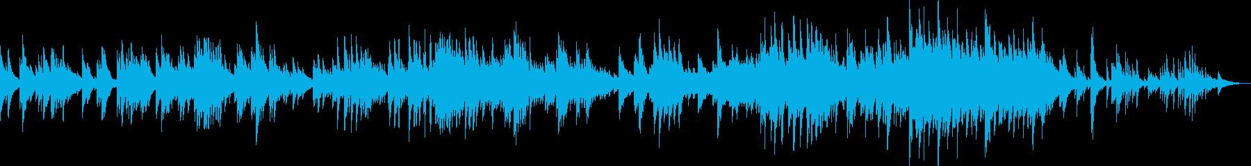 希望の扉(ピアノソロ・明るい・爽やか)の再生済みの波形