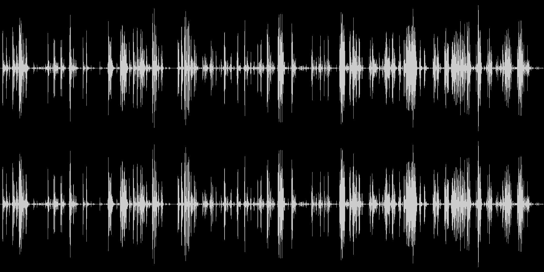 家庭 カップガラガラハード02の未再生の波形