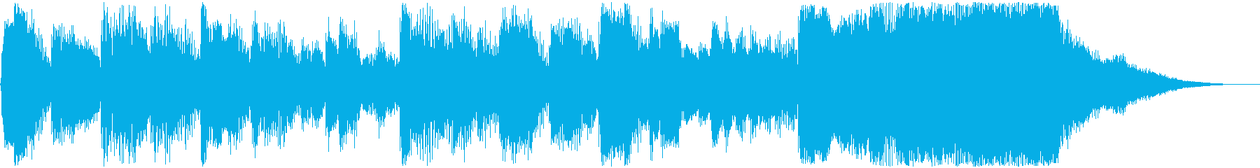 An orchestra but cute jingle's reproduced waveform