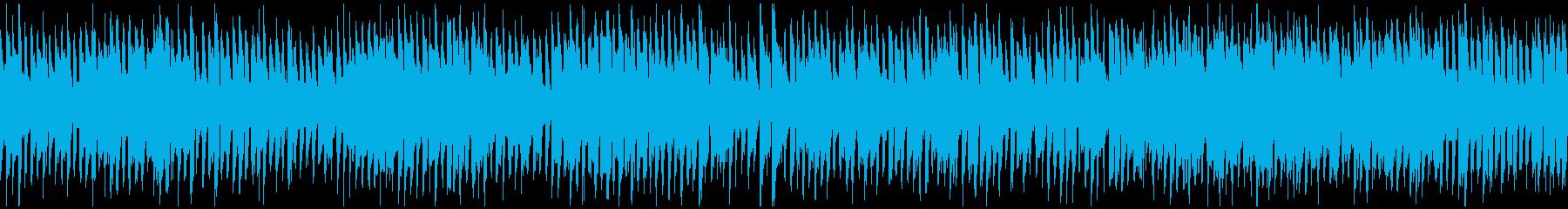 カートゥーンずっこけコメディ ※ループ版の再生済みの波形