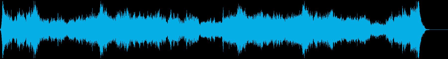 LUXURY LINERの再生済みの波形