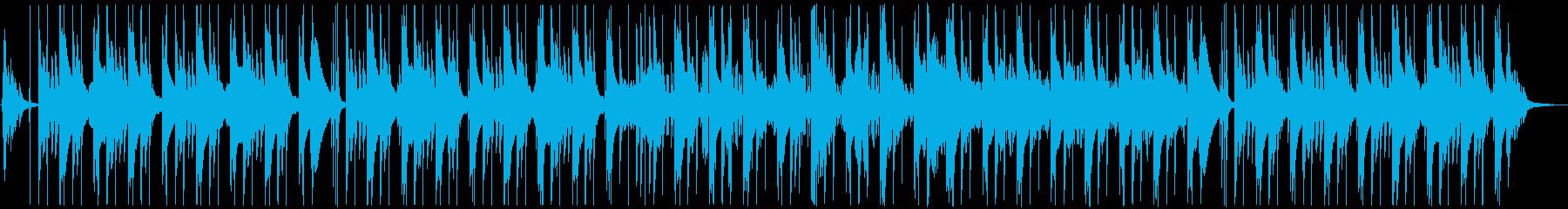 切なさとダークな雰囲気を併せ持つトラップの再生済みの波形