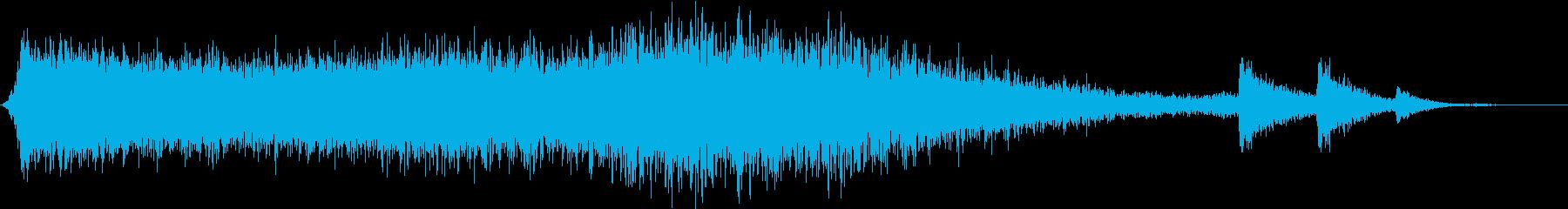 【ダークアンビエント】ホラーゲームBGMの再生済みの波形