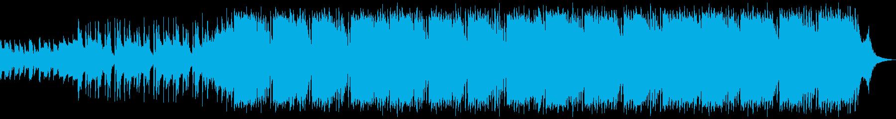 静かな緊張を引き起こすの再生済みの波形