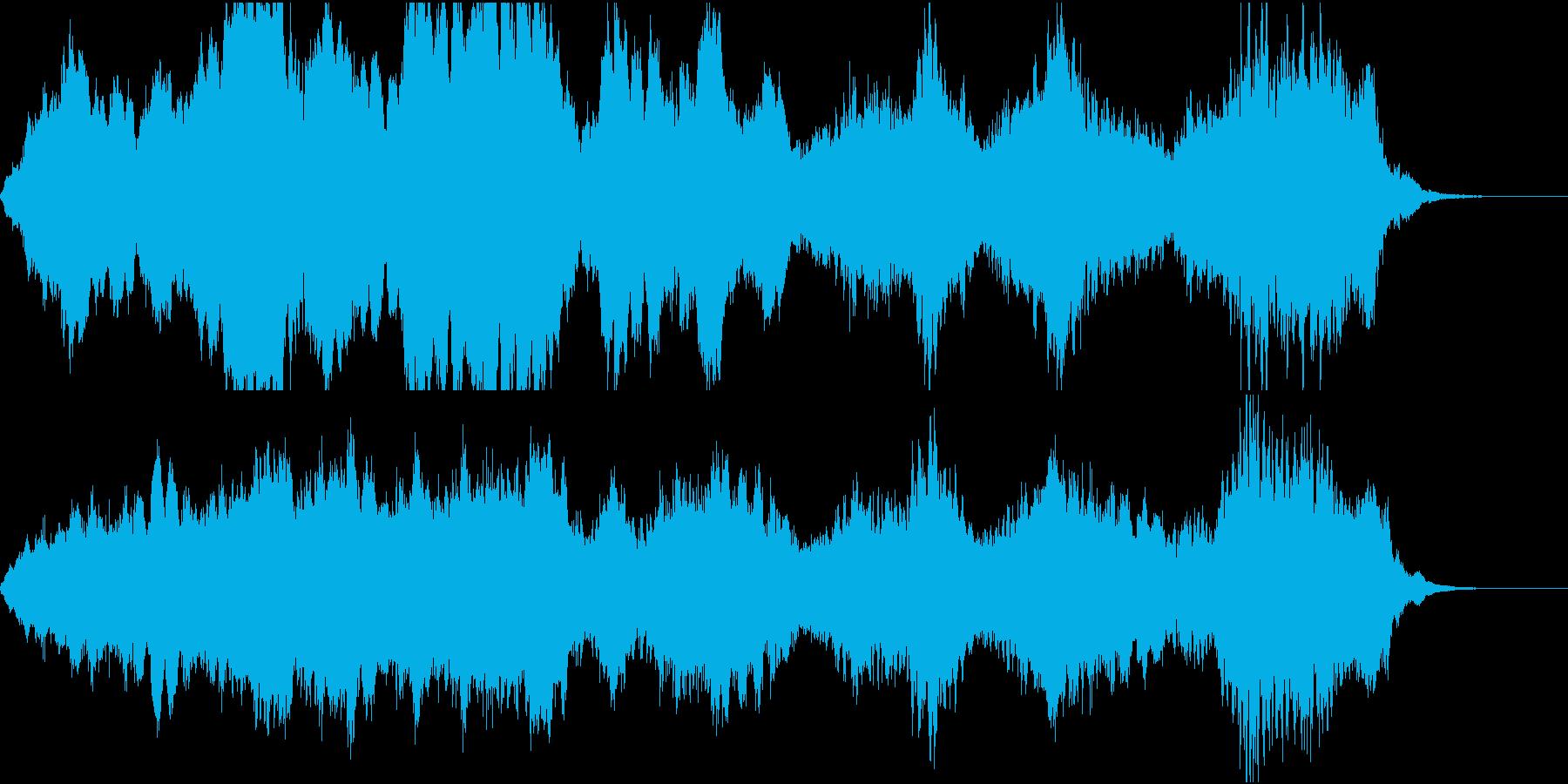 怖い映像BGM/ハロウィン/恐怖/ホラーの再生済みの波形