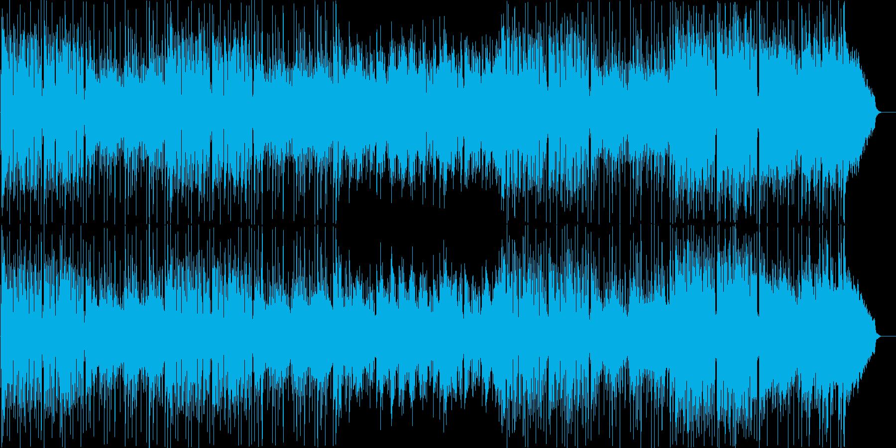 三味線によるほのぼのした和風ポップの再生済みの波形