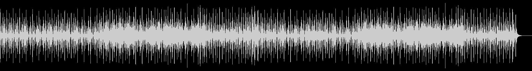 メロディーなしの未再生の波形