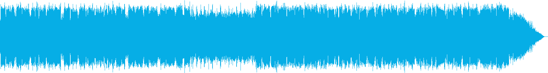 ほのぼのとした優しい竹笛の音楽の再生済みの波形