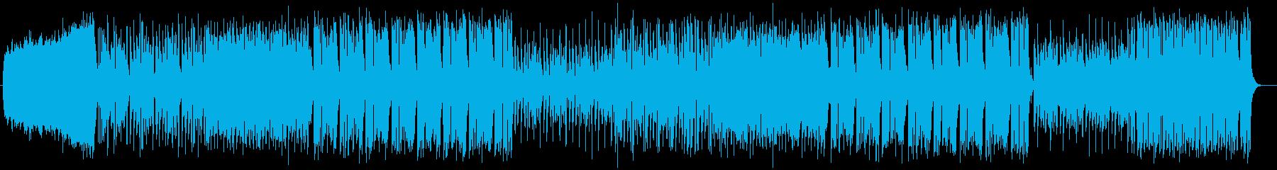 爽やかキラキラポップの再生済みの波形