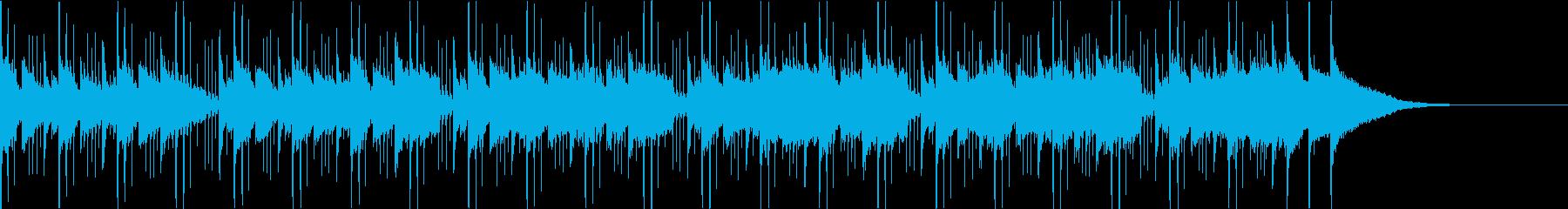 Pf「予感」和風現代ジャズの再生済みの波形
