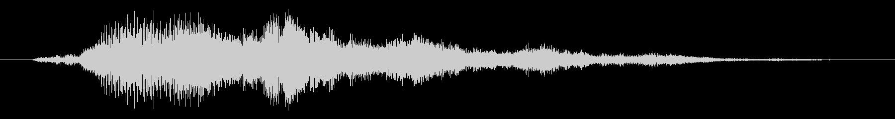 低金属リンガー3の未再生の波形