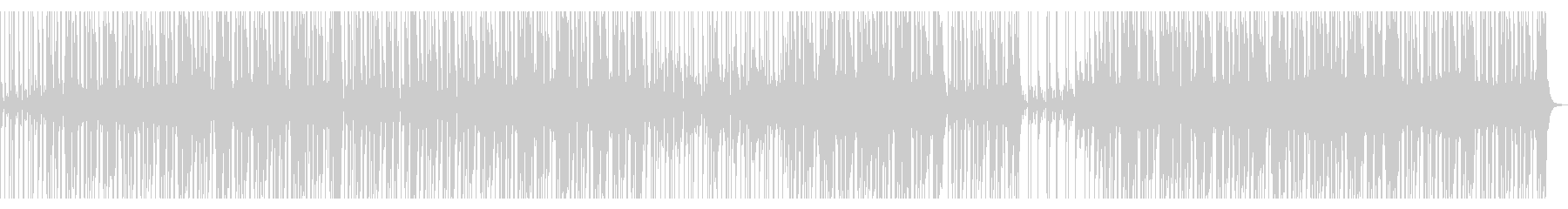 【ギターオブリ無し】スローファンクロックの未再生の波形