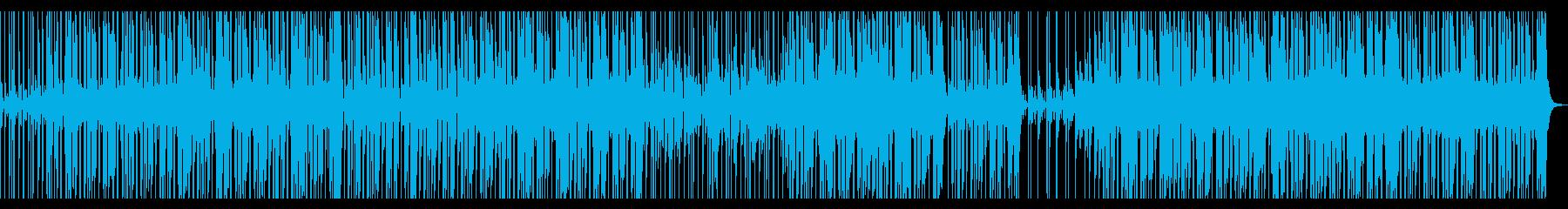 【ギターオブリ無し】スローファンクロックの再生済みの波形