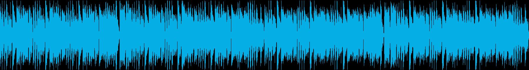 かわいいコミカル/ループの再生済みの波形