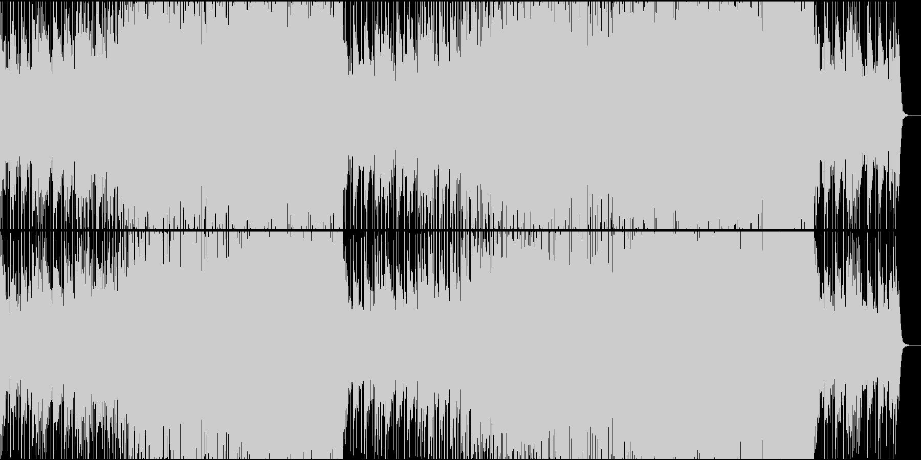 Vlog・洋楽トロピカルハウス・EDM♫の未再生の波形