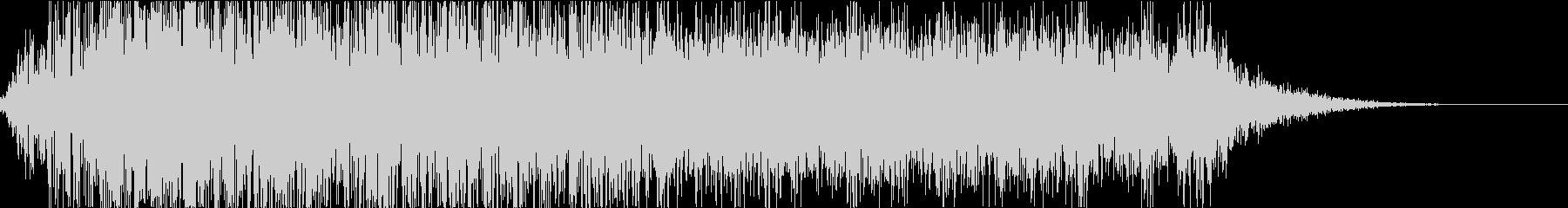 怪物・モンスターの鳴き声・ゲーム・映画gの未再生の波形