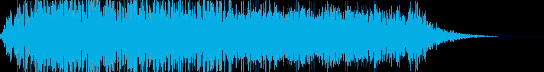怪物・モンスターの鳴き声・ゲーム・映画gの再生済みの波形