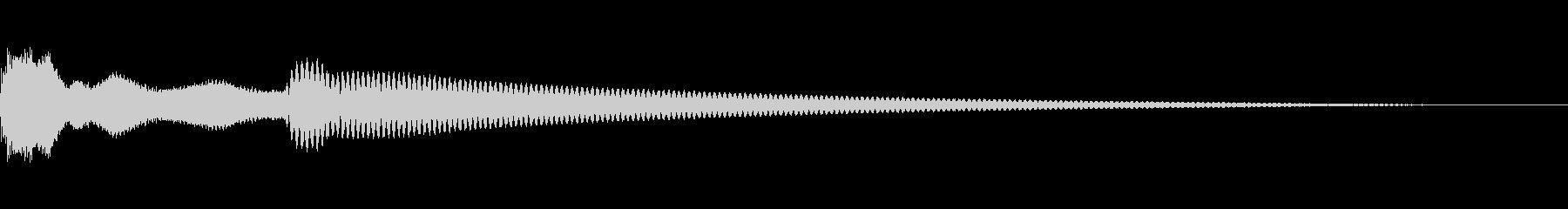 エレクトリックドアベル:リングドアベルの未再生の波形