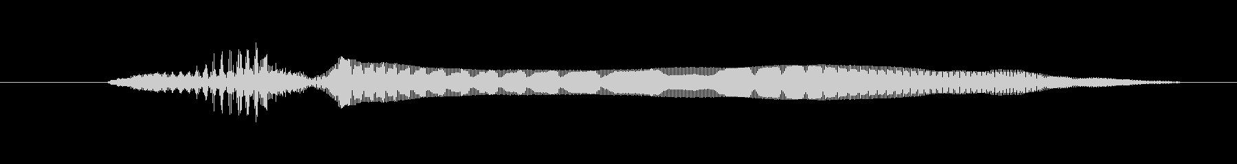 ドワーフ 応援ジュフ06の未再生の波形