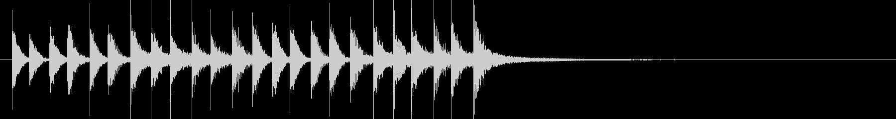 ドラム/ティンバレス フィルイン 23の未再生の波形