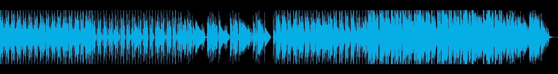 【短いVer4】スペーシーファンクの再生済みの波形