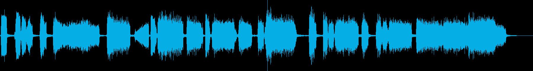 マーチングテーマ1:カズーのみの再生済みの波形