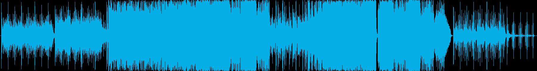ポップスなオーケストラ エンディング曲の再生済みの波形