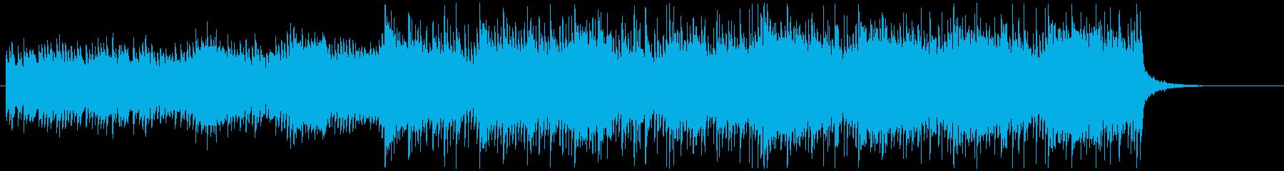 ハイブリッドシネマティック/イントロの再生済みの波形