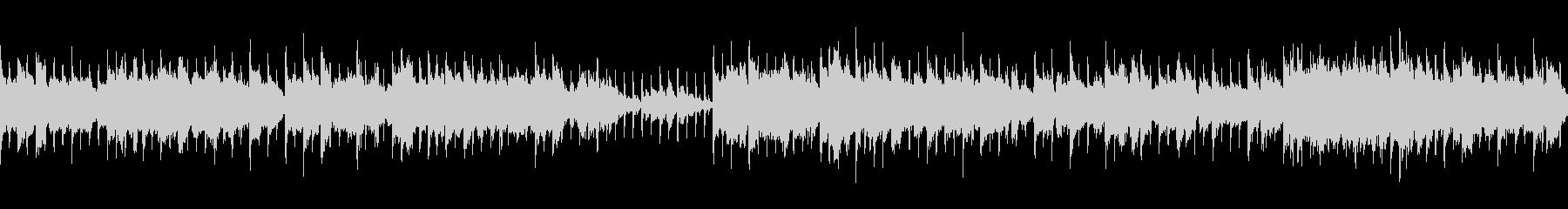 【ループ】おしゃれな雰囲気 淡々とピアノの未再生の波形