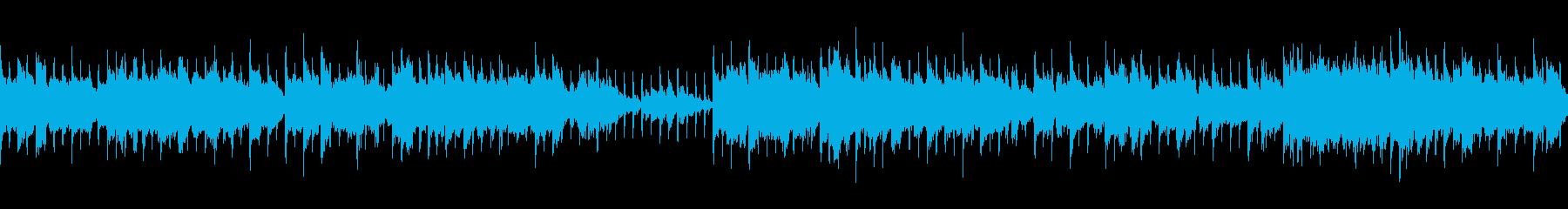 【ループ】おしゃれな雰囲気 淡々とピアノの再生済みの波形