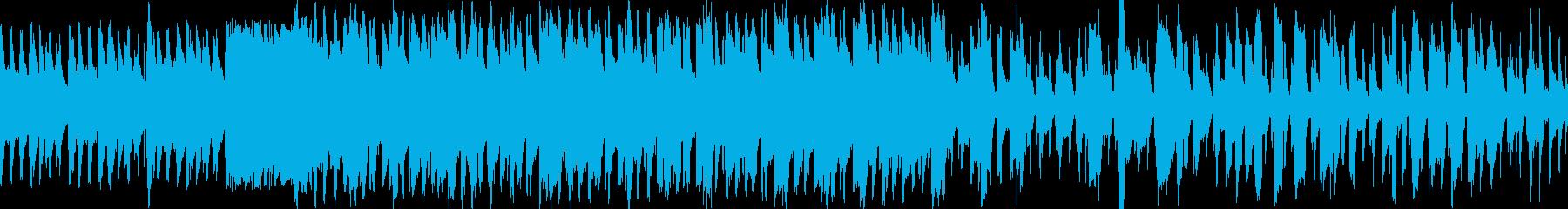 サックスのジャズ風クリスマスソングの再生済みの波形