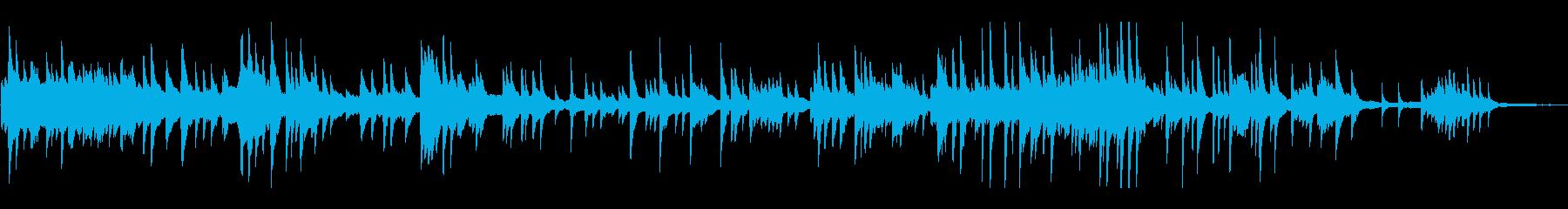 感動シーンに合うループピアノメロディーの再生済みの波形