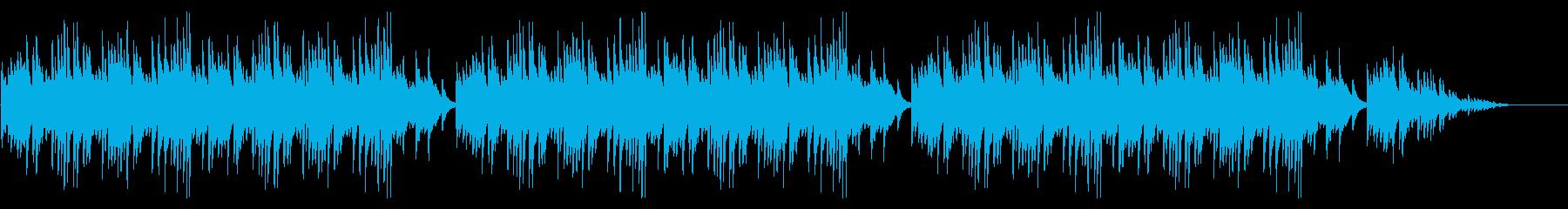 「どんぐりころころ」シンプルなピアノソロの再生済みの波形