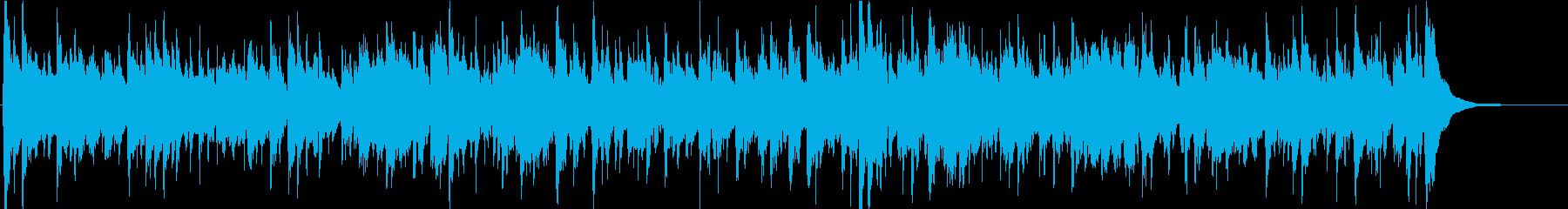 【生演奏】アコギのバッキングBGMの再生済みの波形