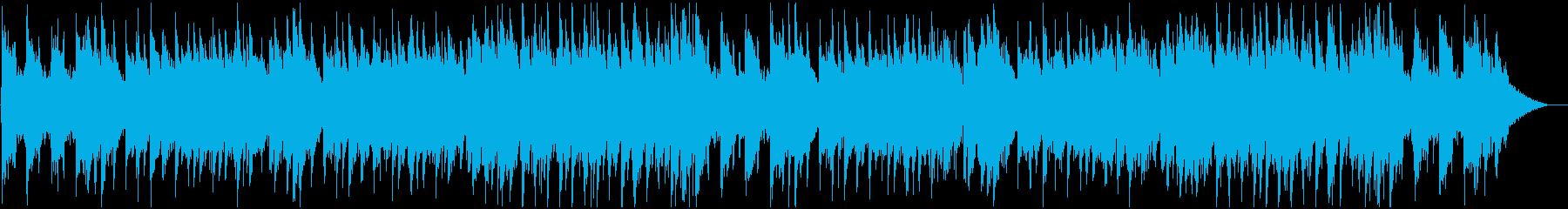 ロマンチックでセンチメンタルなBGMの再生済みの波形