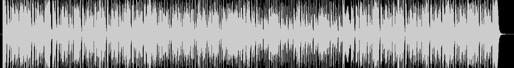 ピアノがスタイリッシュなBGMの未再生の波形