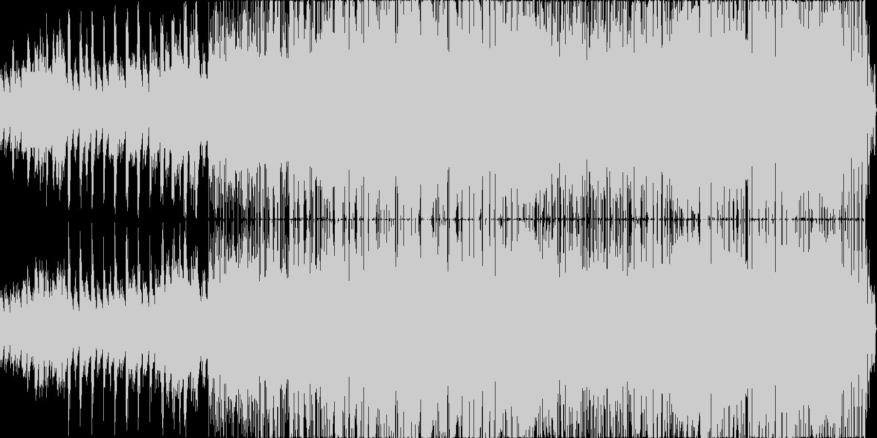 スムースジャズロックの未再生の波形