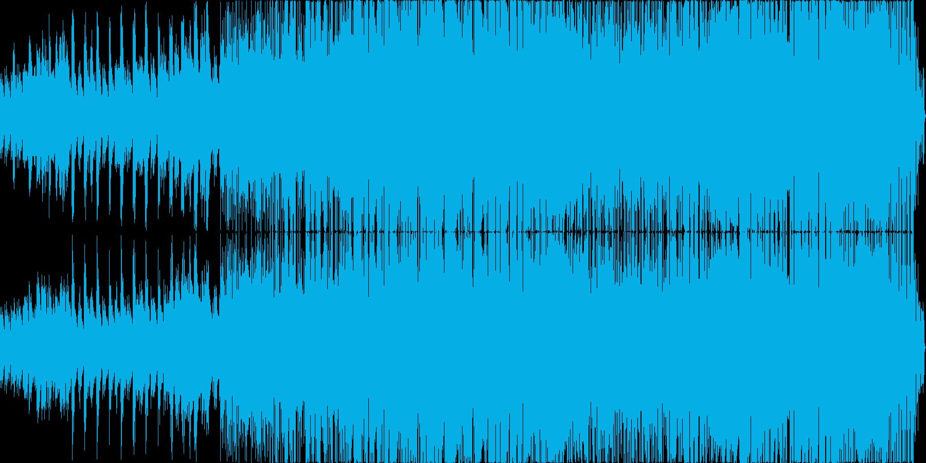 スムースジャズロックの再生済みの波形