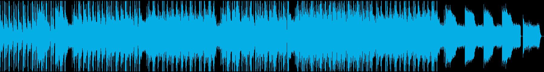 機械的なテクノ フュージョン の再生済みの波形