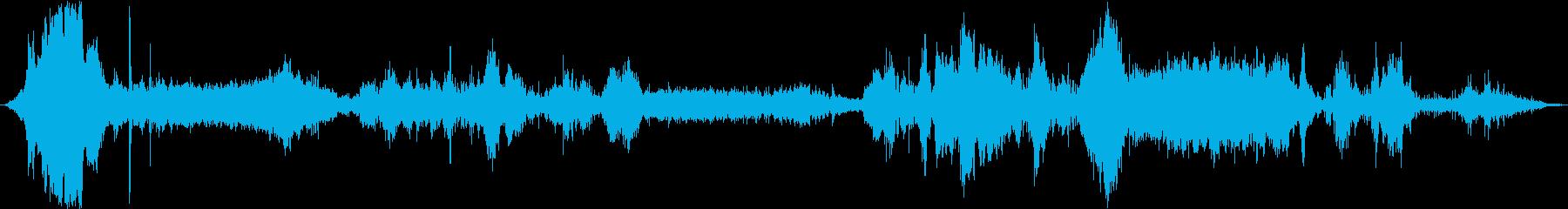 メタルローラーコースター:オンボー...の再生済みの波形